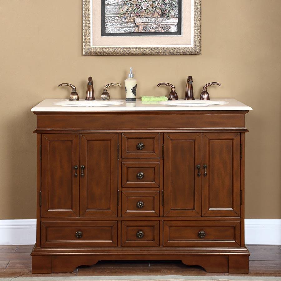 48 double sink vanity top